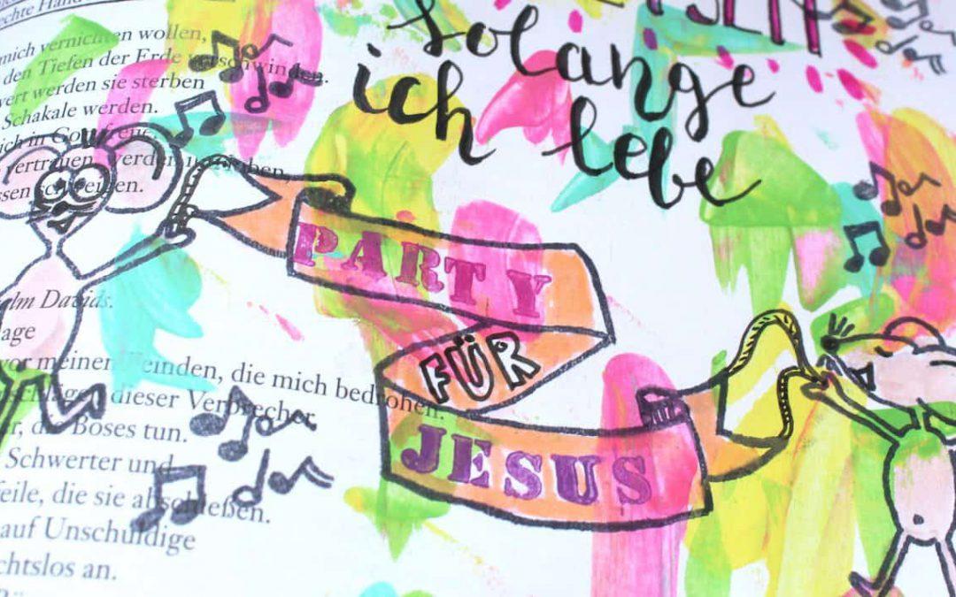 Party für Jesus mit kidsfun zu Psalm 63