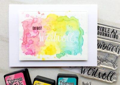 """Karte """"Wertvoll"""" von Nicole V."""