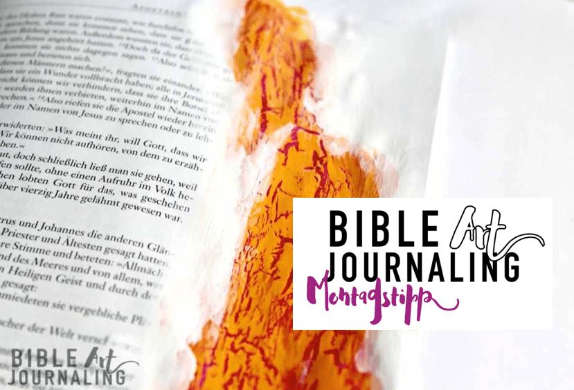 23 risseffekte mit acrylfarbe bible art journaling. Black Bedroom Furniture Sets. Home Design Ideas