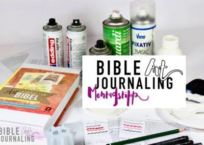 #28 Bibelseite Grundieren – Fixieren