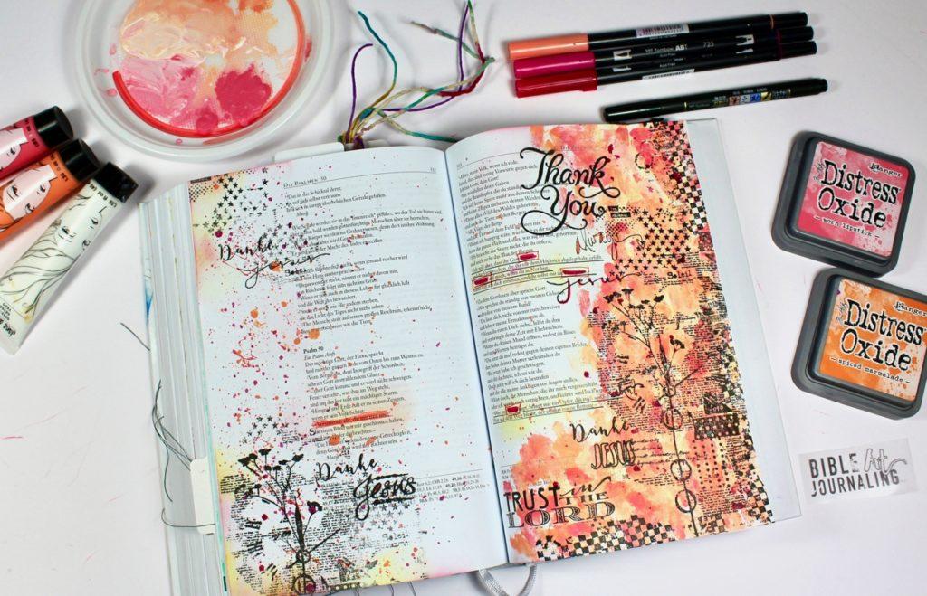 Psalm 50 und einer der vielen Wege zu Journaln