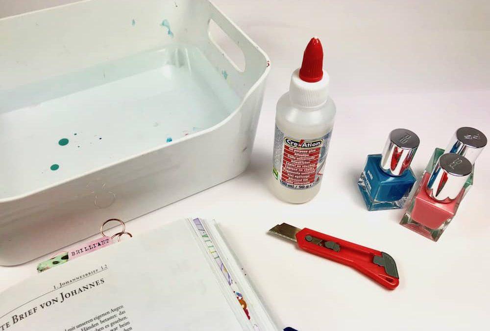 #31 Nagellack Coloriertechnik