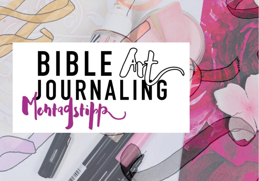 32 Banner und Schleifen zeichnen - Bible Art Journaling