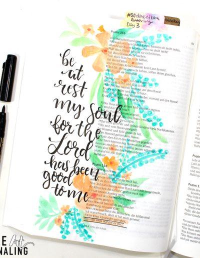 Tag 3 Psalm 116,7
