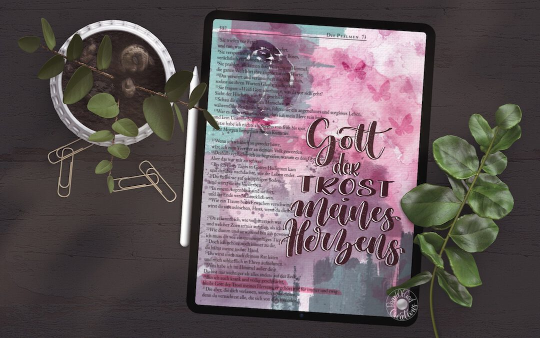 Bible Art Journaling Digital ein Interview