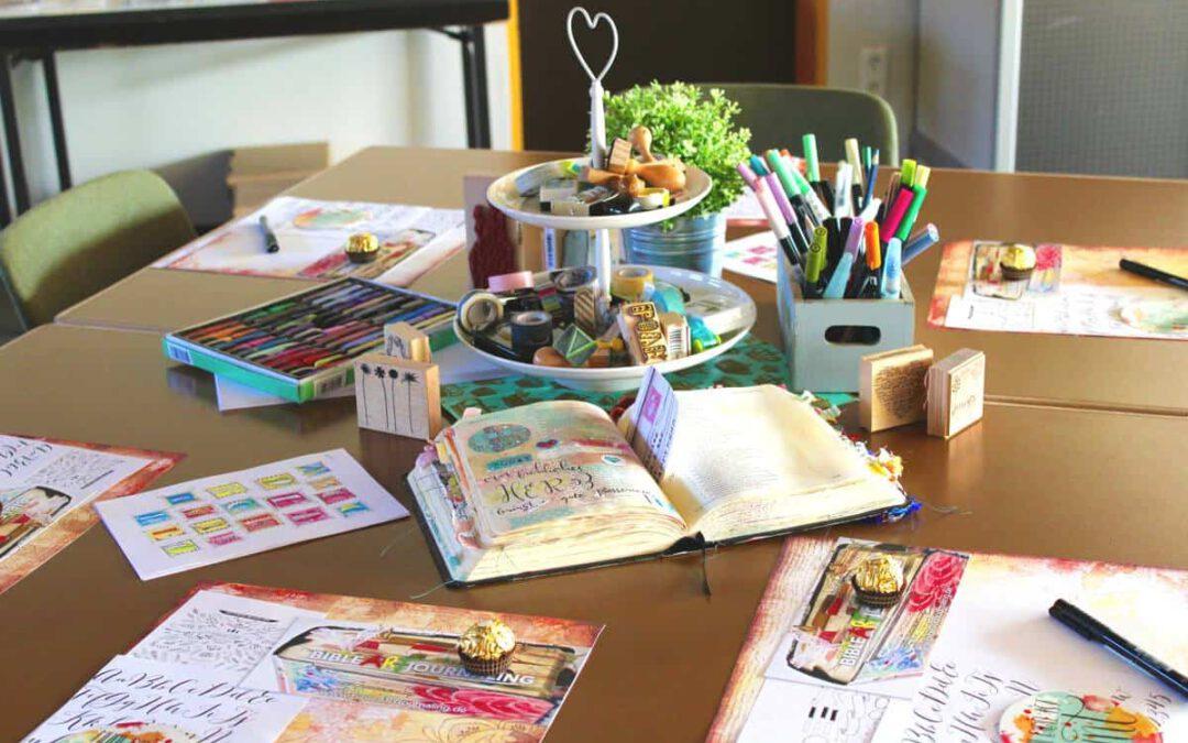 Bible Art Journaling als Tagesworkshop